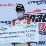 Devlin DeFrancesco earned the pole for Saturday's Indy Pro 2000 event at World Wide Technology Raceway.