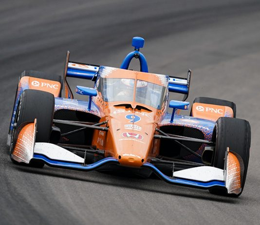 Scott Dixon claimed his 50th Indy car victory Saturday afternoon at World Wide Technology Raceway. (IndyCar Photo)