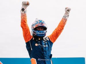 Scott Dixon in victory lane Aug. 29 at World Wide Technology Raceway. (IndyCar Photo)