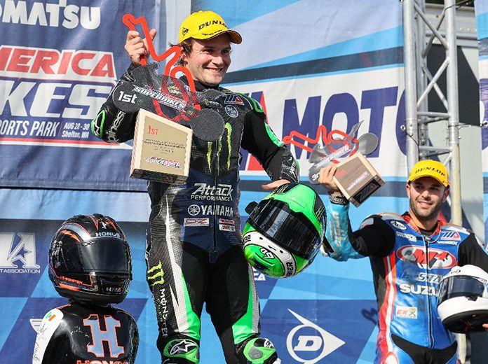 Cameron Beaubier claimed his eighth MotoAmerica Superbike victory of the season on Saturday. (Brian J. Nelson Photo)