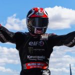 Jonathan Rea topped Sunday's World Superbike event at MotorLand Aragon. (WorldSBK Photo)