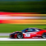 Shelby Blackstock and Trent Hindman were unbeatable in Sunday's GT World Challenge America race at Road America.
