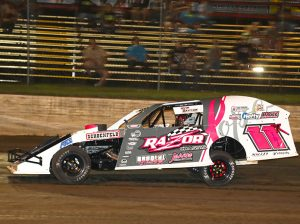 Tom Berry works 30 hours a week while also racing three days a week in Iowa. (Jeff Zimmerline Photo)
