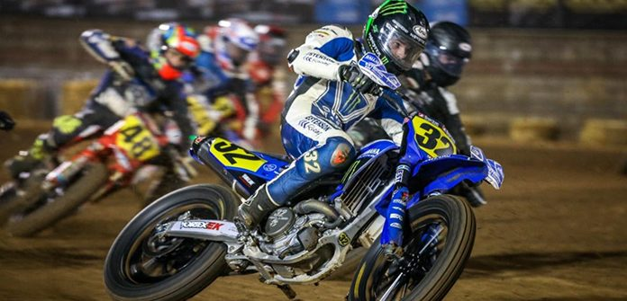 Dallas Daniels won the first AFT Singles main event Friday at the Springfield Mile.