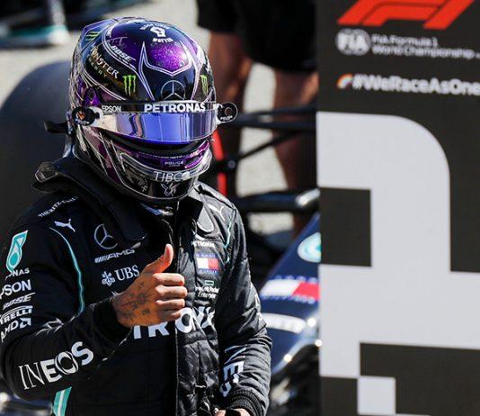 Lewis Hamilton claimed the pole for Sunday's Italian Grand Prix. (LAT Images Photo)