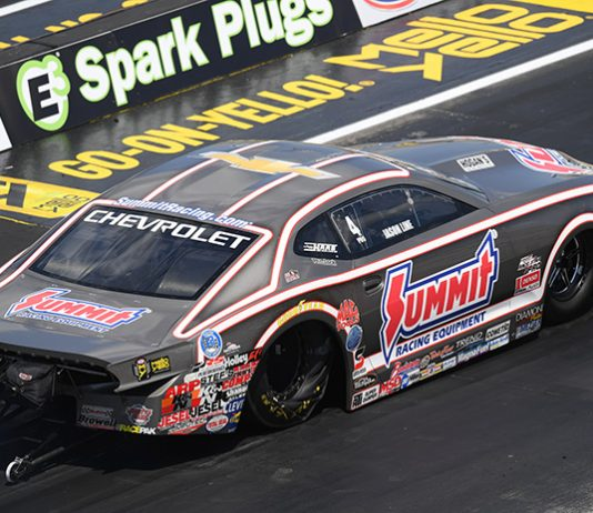 Jason Line has been one of the NHRA's top Pro Stock competitors for years, but he's calling it a career at the end of 2020. (NHRA Photo)