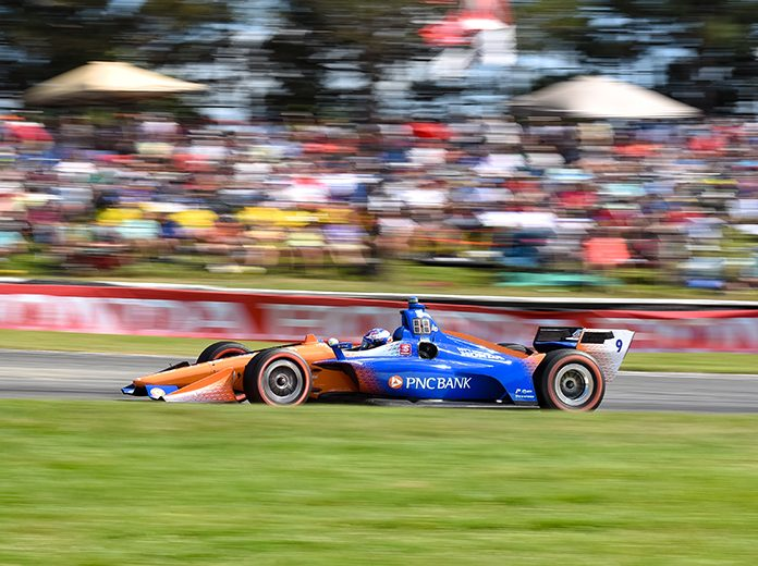 Strict social distancing guidelines will be in place for this weekend's NTT IndyCar Series doubleheader at the Mid-Ohio Sports Car Course. (IndyCar Photo)