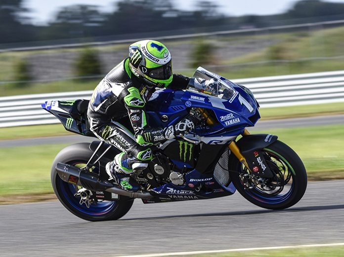 Cameron Beaubier continued his domination of the MotoAmerica Superbike class Saturday at New Jersey Motorsports Park. (Dennis Bicksler Photo)