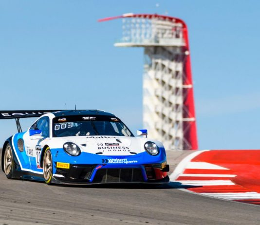 Jan Heylen will join Wright Motorsports for the upcoming GT World Challenge America event at Circuit of the Americas.