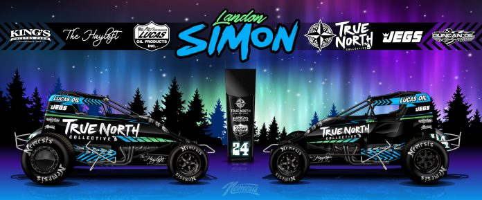 Landon Simon has inked an agreement with the True North Collective that runs through 2021.