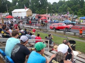 Fans take in a Southeast Gassers Ass'n event at Mooresville (N.C.) Dragway earlier this year. (Adam Fenwick Photo)