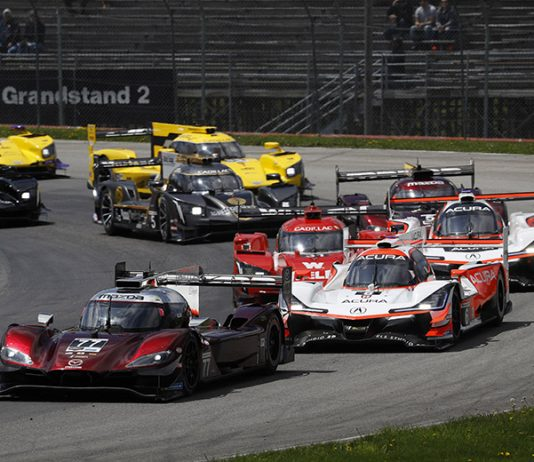 The Mid-Ohio Sports Car Course will be allowed to host a limited number of fans when IMSA visits the facility next weekend. (IMSA Photo)