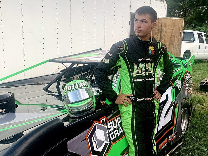Devon Morgan has secured sponsorship support from Jiffy Lube.