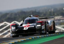 Kamui Kobayashi put Toyota Gazoo Racing on the pole for the 88th 24 Hours of Le Mans. (Toyota Photo)