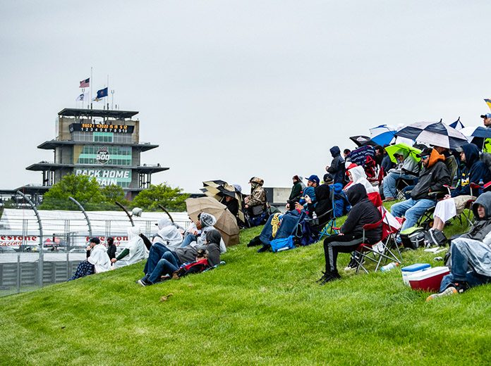 Indianapolis Motor Speedway will welcome 10,000 fans for the upcoming Harvest Grand Prix. (IndyCar Photo)