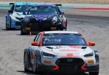 Tyler Maxson was again unbeatable in TCR action Friday at Circuit of the Americas.