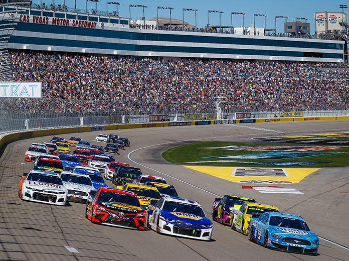 Fans will not be allowed when NASCAR returns to Las Vegas Motor Speedway next weekend. (HHP/Chris Owens Photo)