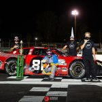 Buddy Shepherd won again Saturday at Madera Speedway.