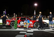 Buddy Shepherd won again Saturday at Madera Speedway.