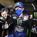 Maverick Viñales earned his first MotoGP win of the season Sunday in Italy. (Yamaha Photo)