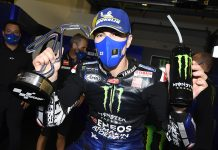 Maverick Viñales earned his first MotoGP win of the season Sunday in Italy. (Yamaha Photo)