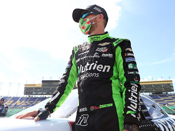 Ross Chastain will take over the No. 42 Chip Ganassi Racing Chevrolet in the NASCAR Cup Series next year. (Jamie Squire/Getty Images Photo)