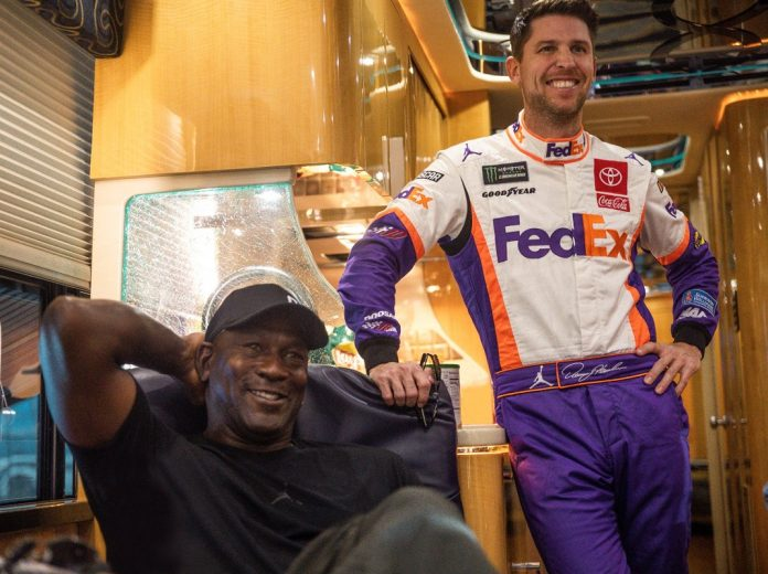 Michael Jordan buys NASCAR team and signs driver Bubba Wallace