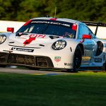 The Porsche GT Team will not take part in the IMSA WeatherTech SportsCar Championship event at the Mid-Ohio Sports Car Course as a precaution after multiple positive COVID-19 tests following the 24 Hours of Le Mans. (Porsche Photo)