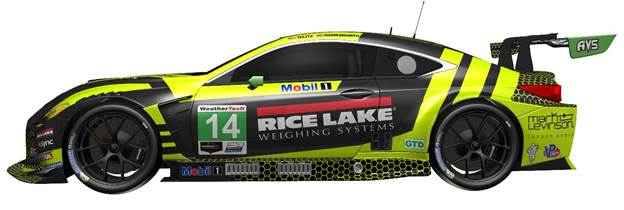 Rice Lake Weighing Systems has increased its support of Aaron Telitz.