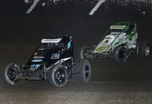 Ruble: First USAC Win