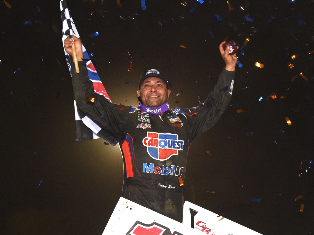 Schatz Returns To WoO Victory Lane At Plymouth