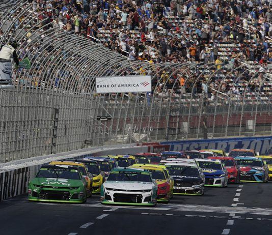 Charlotte Motor Speedway will welcome a limited number of fans during the ROVAL weekend in October. (HHP/Garry Eller Photo)