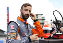 James Hinchcliffe will drive the No. 26 Andretti Autosport entry in the final three NTT IndyCar Series events this year. (IndyCar Photo)