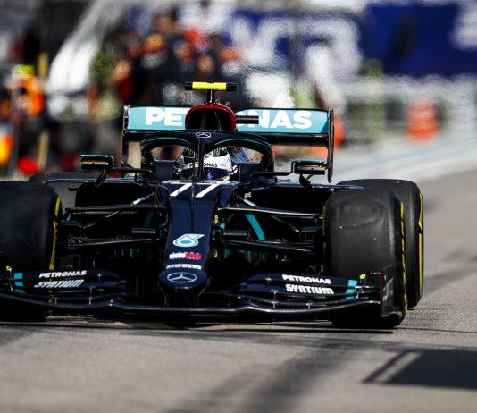 Bottas Heads Formula One