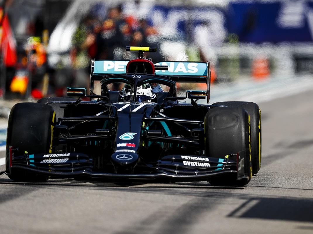 Bottas Sweeps Formula One Practice In Russia