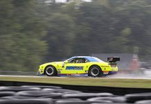 Boris Said topped a rainy Trans-Am Series qualifying session on Friday at Virginia Int'l Raceway.