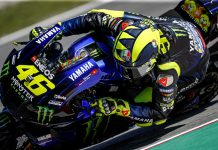 Valentino Rossi will remain in MotoGP next year with the Petronas Yamaha SRT squad. (Yamaha Photo)