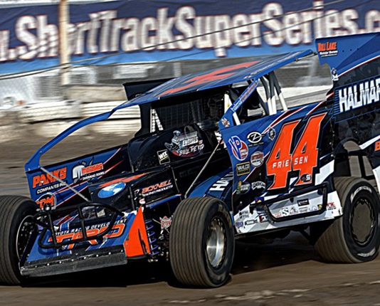 Stewart Friesen, shown here earlier this year, won Saturday's King of the Can event at Penn Can Speedway. (Dave Dalesandro Photo)