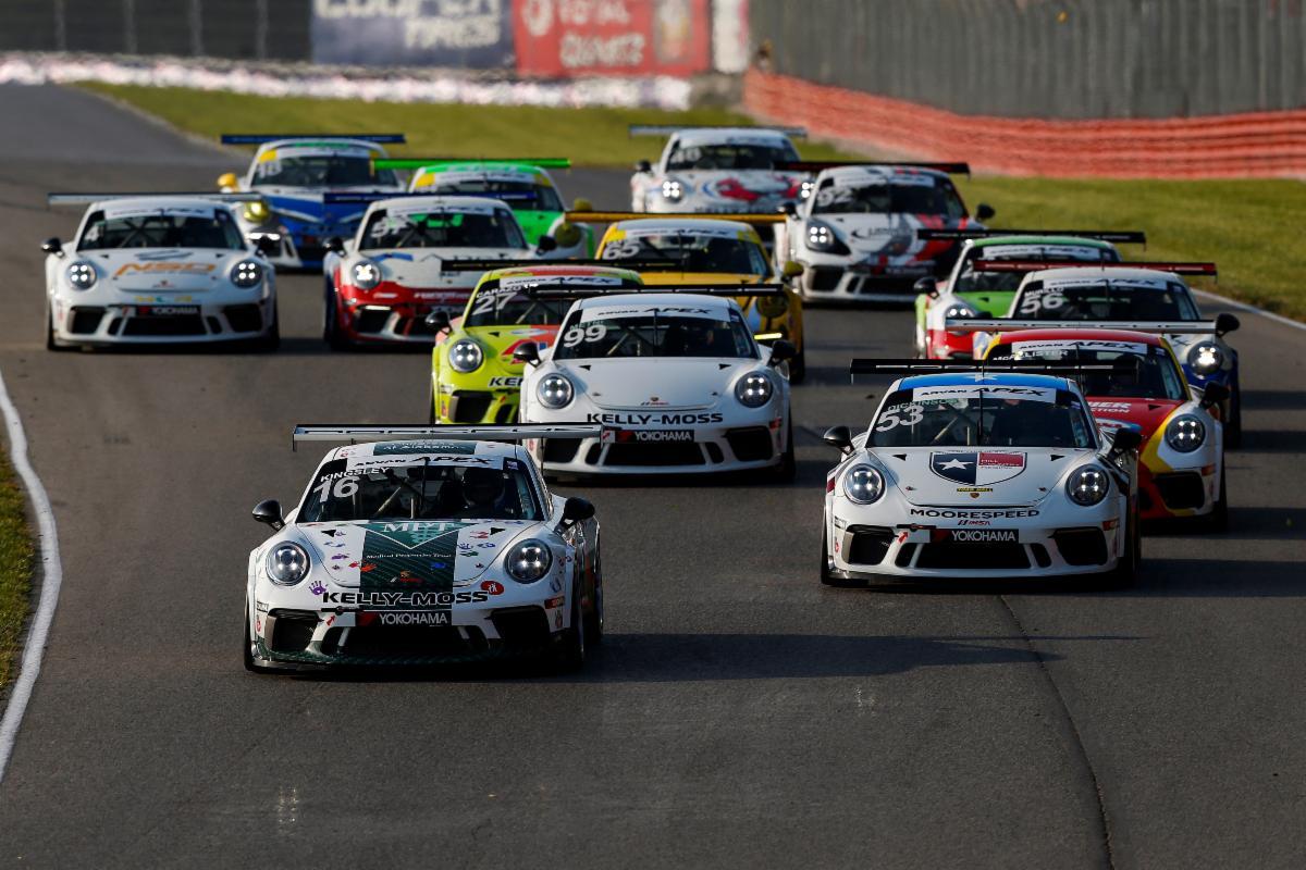 Kingsley Completes Porsche Weekend Sweep