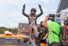 Ernie Francis Jr. won again in Trans-Am Series competition Sunday at Virginia Int'l Raceway.