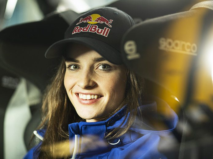 Catie Munnings has joined the Andretti United Extreme E program. (Red Bull Photo)