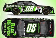 BassReaper Bait Co. will support Joe Graf Jr. at Texas Motor Speedway in October.