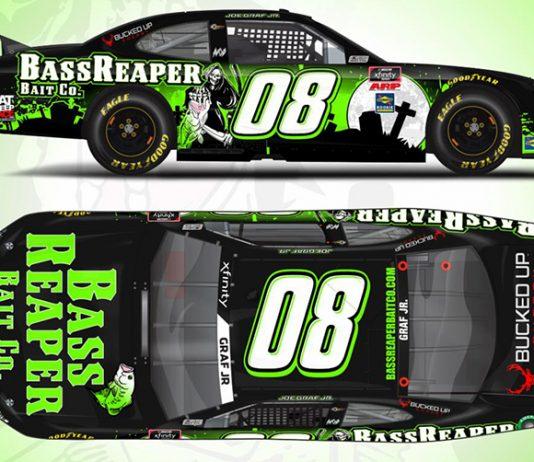 BassReaper Bait Co. will support Joe Graf Jr. at Texas Motor Speedway in October.