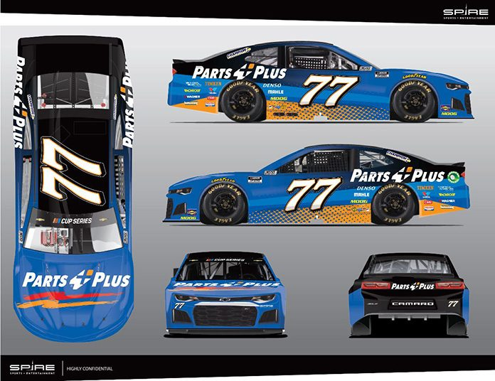 Justin Haley will drive for Spire Motorsports in the NASCAR Cup Series this weekend at Talladega Superspeedway.