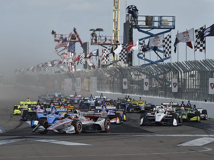 The Grand Prix of St. Petersburg will be open to 20,000 fans in October. (IndyCar Photo)