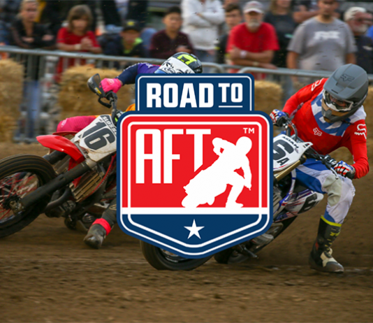 Progressive American Flat Track officials have announced the Road to AFT program.