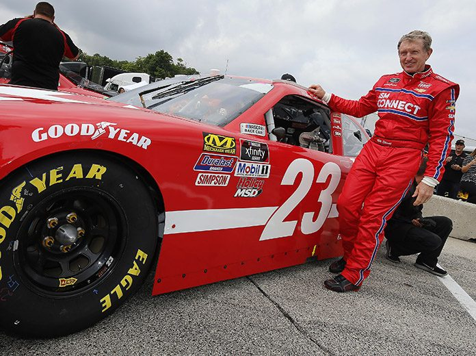 Bill Elliott has joined the driver roster for the Superstar Racing Experience in 2021. (HHP/Andrew Coppley Photo)