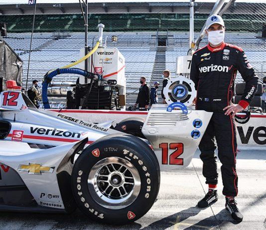 Will Power claimed the pole for the second race of the Harvest GP weekend on Saturday morning. (IndyCar Photo)