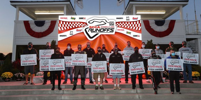 Twenty-six drivers have earned poles for the SCCA National Championship Runoffs at Road America.