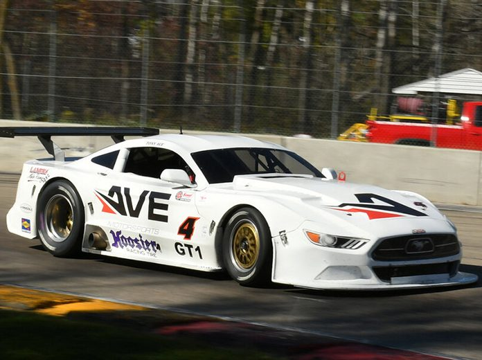 Tony Ave raced to victory in the GT-1 race during the SCCA National Championship Runoffs Saturday at Road America.